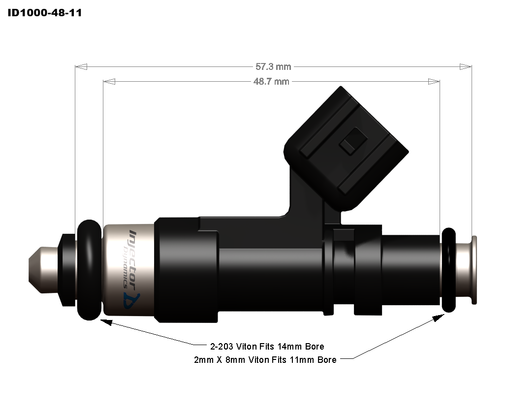 ID1000 48 111 id1000 injectors injector dynamics Injector Dynamics Subaru at eliteediting.co