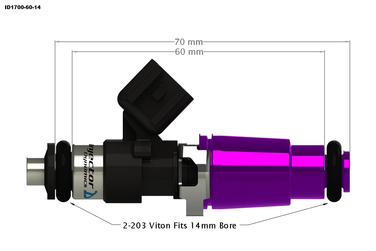ID1700x Injectors - Injector Dynamics